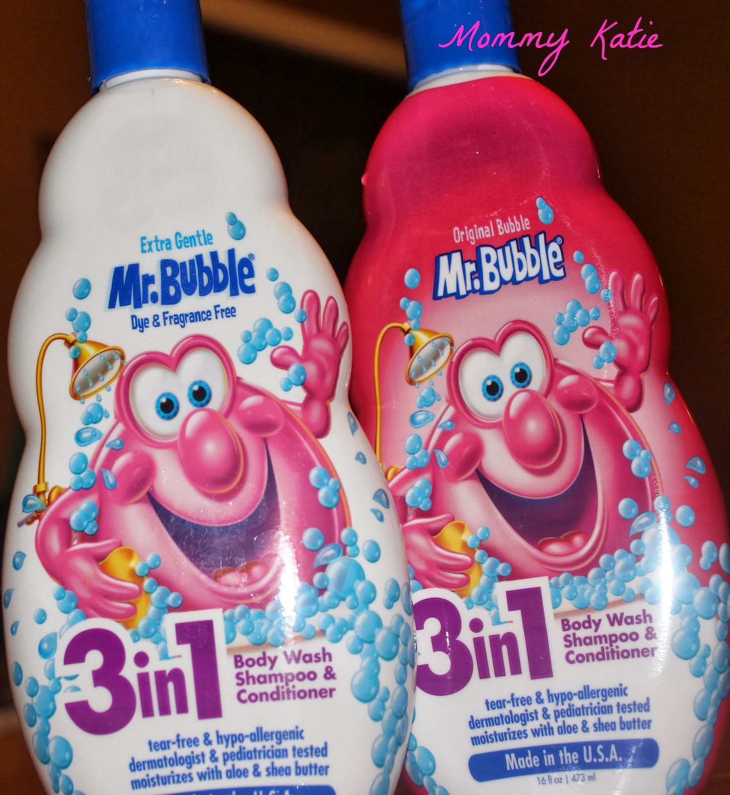 Mommy Katie: Bathing Fun With Mr. Bubble 3 in 1 Body Wash