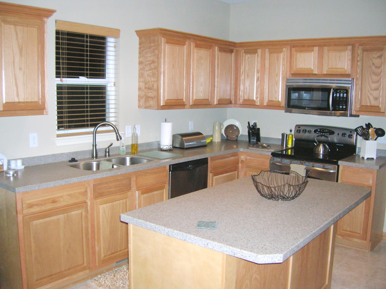 Kitchen Before U0026 After [Painted Kitchen Cabinets]