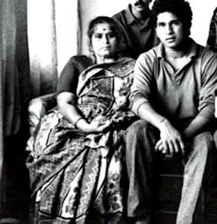 Sachin and his MOM