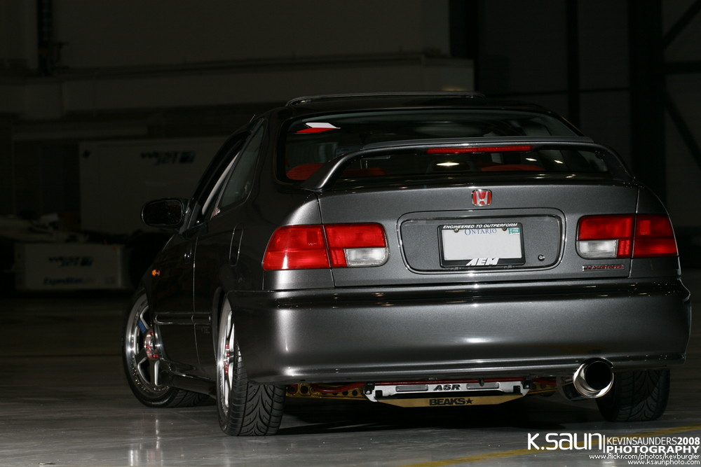 日本車, チューニングカー, ホンダ, Honda civic coupe, VTEC, D15, B16, kultowy, piękny, japoński samochód, sportowy, usportowiony, JDM, tuning, modified, tuned, 6, VI, szósta generacja