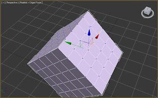 Vértices de caja en 3ds max