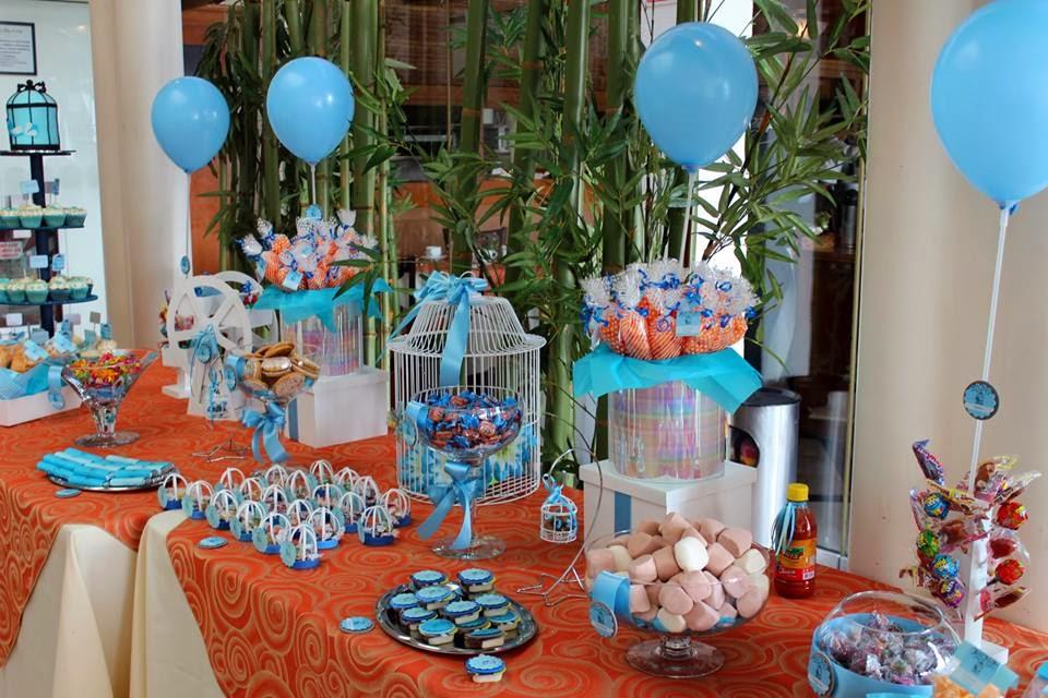 Dulces y eventos mesa de dulces bautizo - Hacer mesa dulce bautizo ...