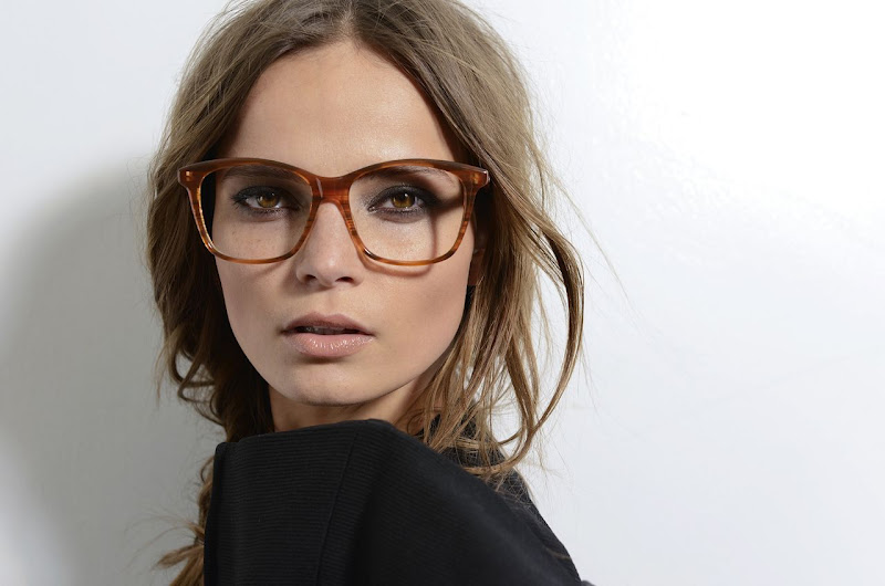 Eyeglass Frames For Large Faces : Monica Rose: Dita Fall 2012