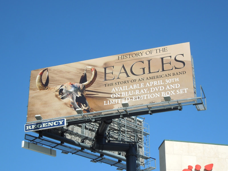 History of the Eagles billboard