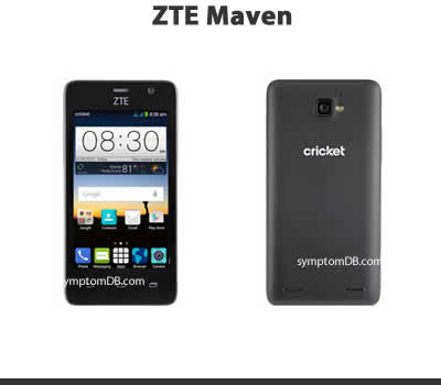 implantation zte maven firmware test drove