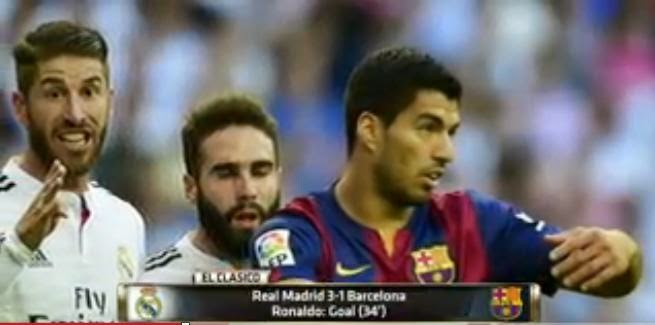 Real Madrid, Barcelona 3-1, soccer