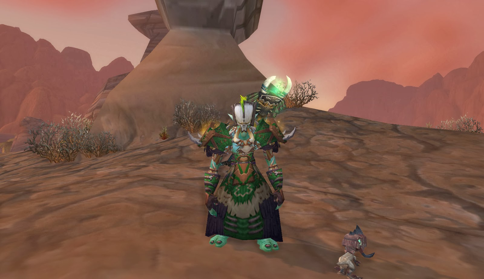 Master Of World Of Warcraft Troll Voodoo Transmog