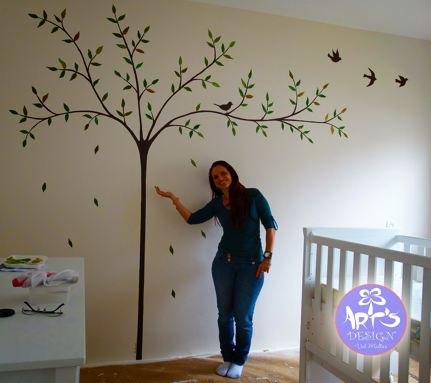 Pintura em parede - Pintura infantil pared ...