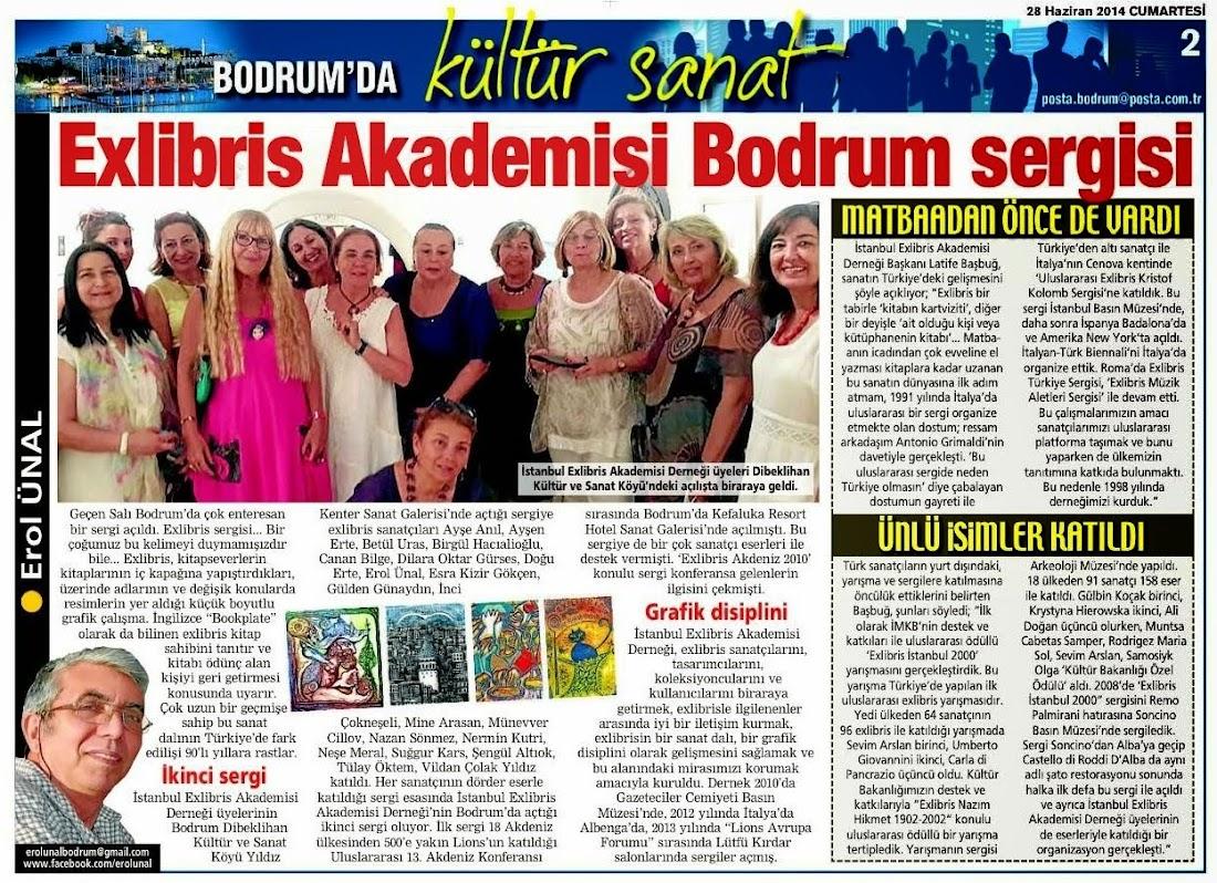 Bodrum Posta 28 Haziran 2014