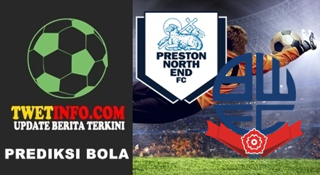 Prediksi Preston North vs Bolton