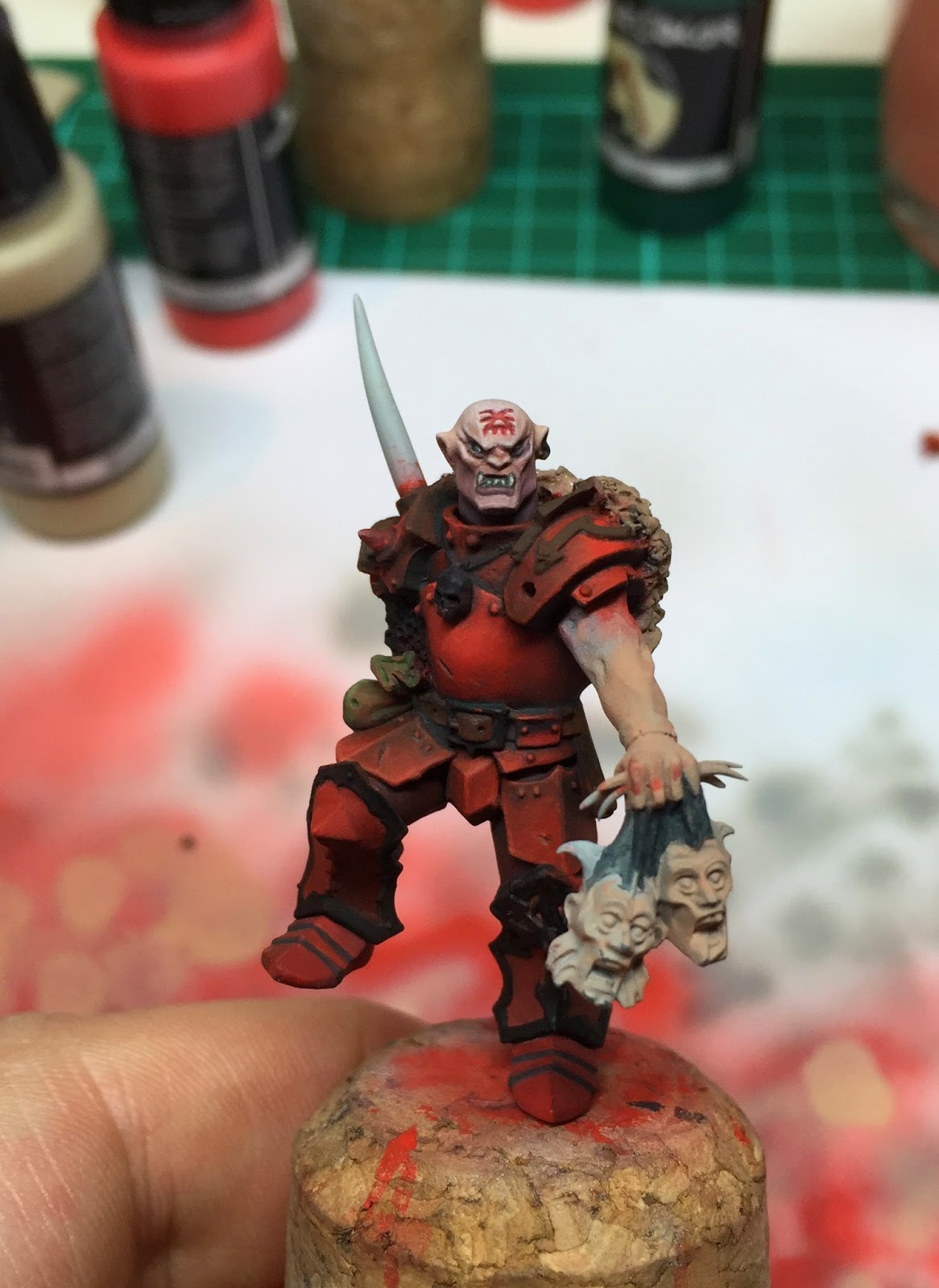 Warhammer Chaos Khorne Lord WIP - by CMDante