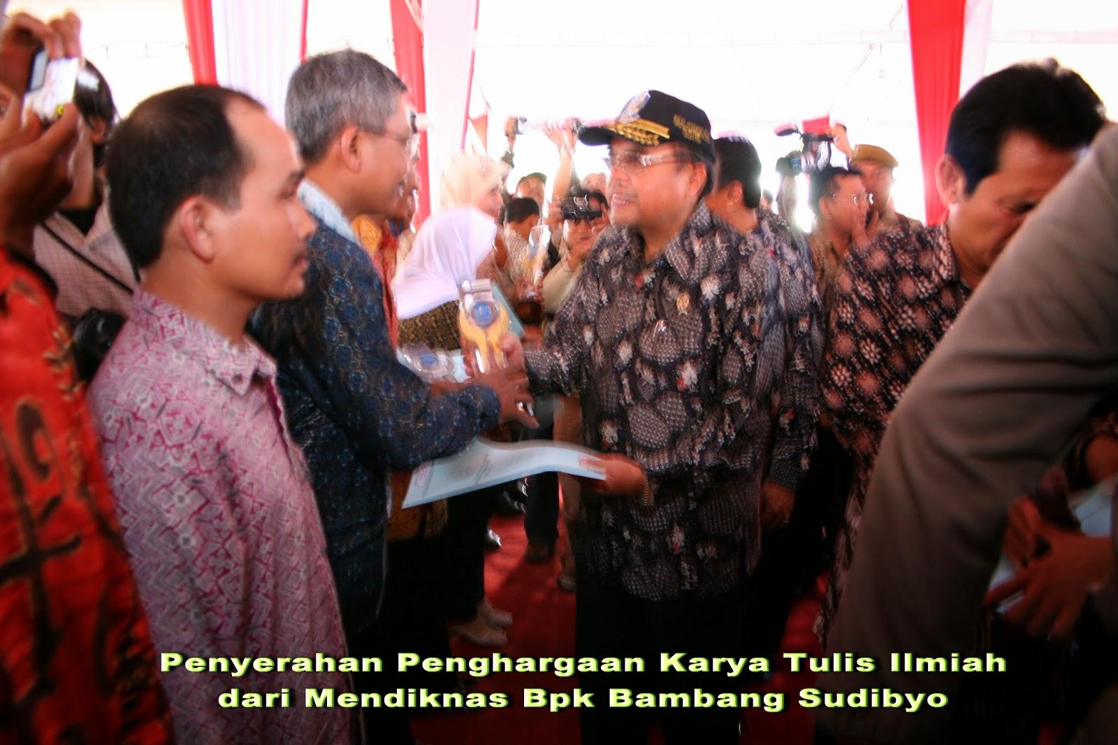 Tulisan Kalbu Nostalgia Bersama Bpk Menteri Dan Teman Teman 2006 Probolinggo Jawa Timur