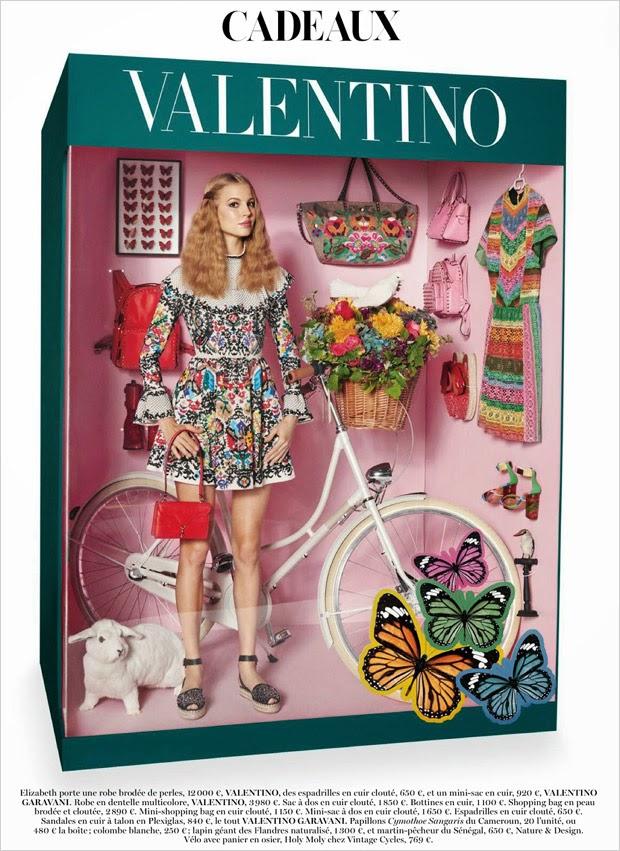 Vogue Paris Dicembre 2014   editoriale valentino
