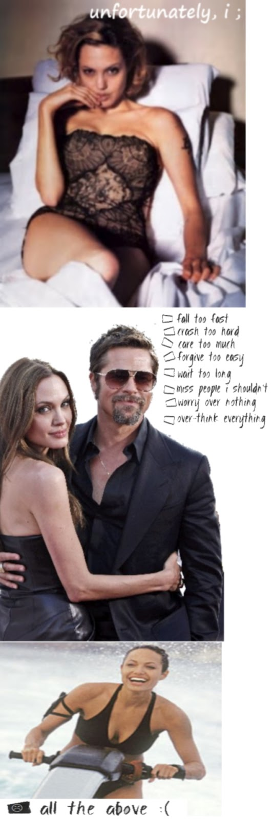 Brad Pitt and Angelina Jolie Celebrity Quotes
