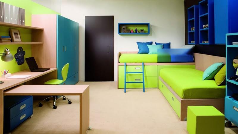 Fotos de dormitorios juveniles para dos chicos - Habitaciones juveniles para dos ...