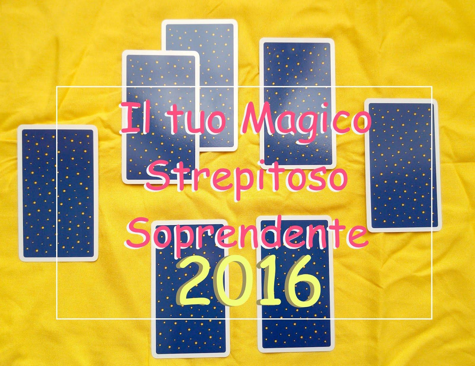 MAGICO 2016: un omaggio per te!