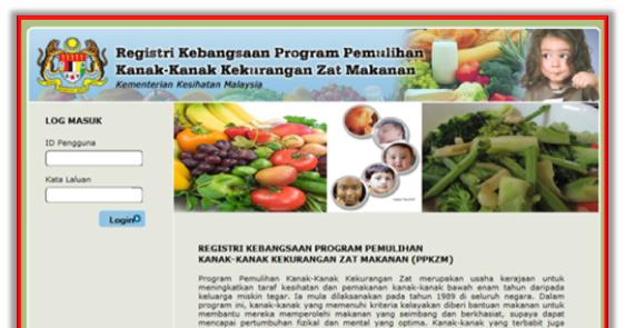 Registeri Kebangsaan Program Pemulihan Kanak-Kanak