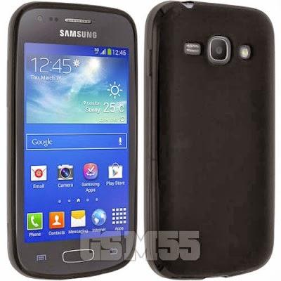 Coque douce au toucher pour Samsung Galaxy Ace 3 S7270
