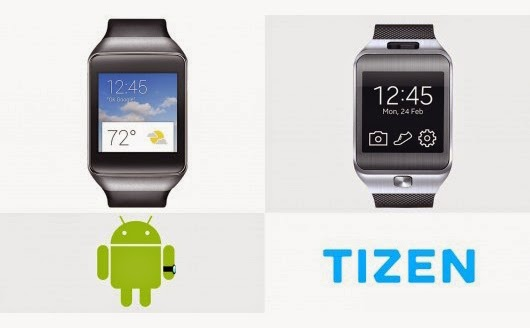 Android Wear atau Tizen