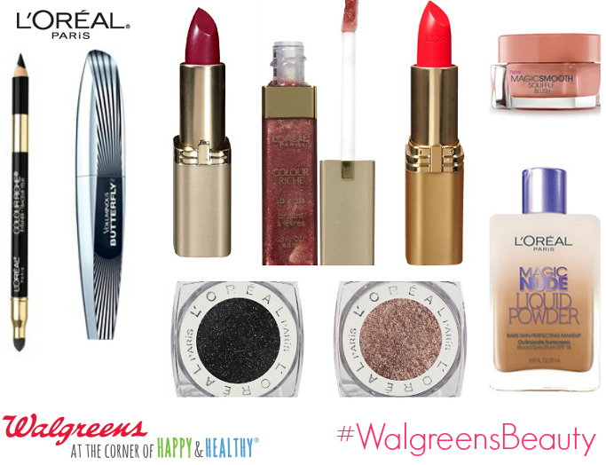 #L'Oreal  #WalgreensBeauty, #shop, #cbias