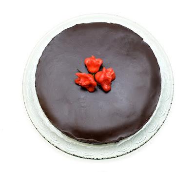 Čili torta /Chilli cake Bishop`s crown