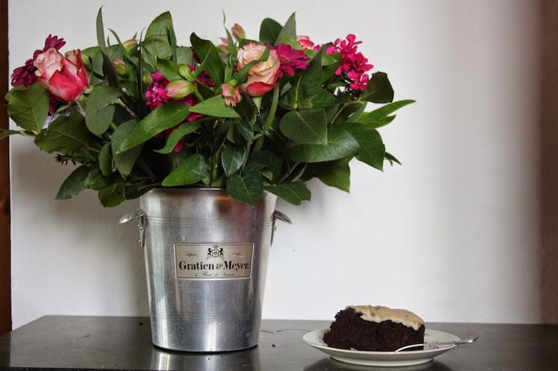 Chocolade-courgettetaart op NFM