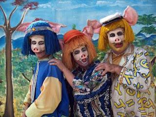 """Bangu Shopping apresenta """"Os três Porquinhos Caipiras"""""""