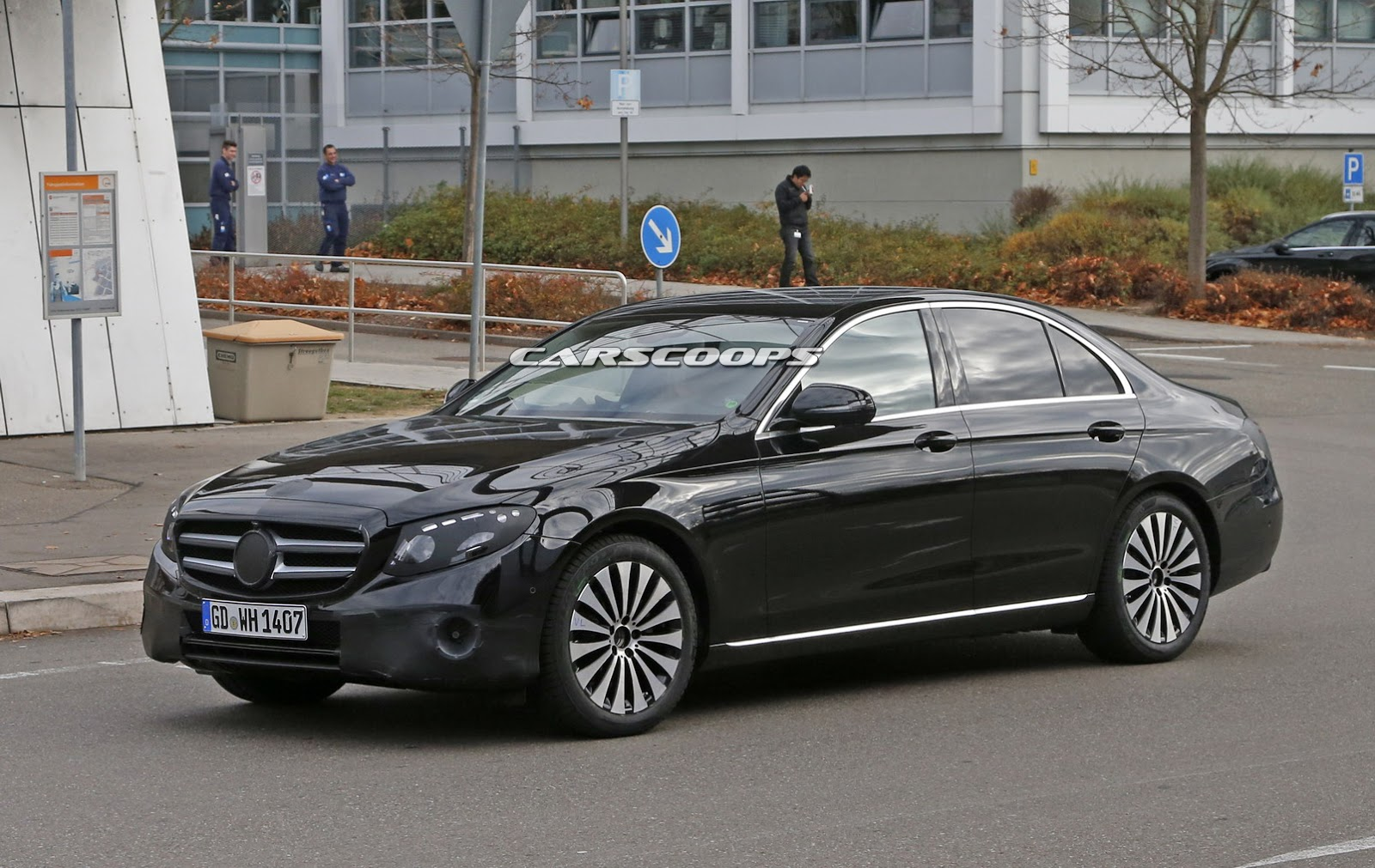 2017 mercedes benz e class sedan spied virtually. Black Bedroom Furniture Sets. Home Design Ideas