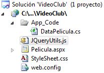 AreaTIC, ASP.NET, Ajax, JQuery, JSON