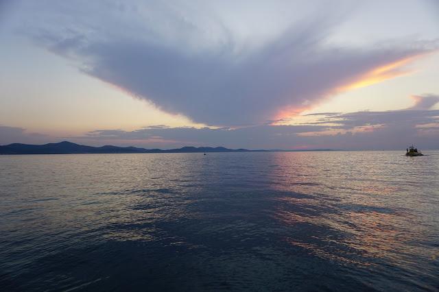 Blog Cafe Chic Choc - Zadar, Chorwacja, - podróże zachód słońca