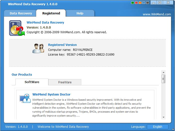 Recover My File Software Serial Key