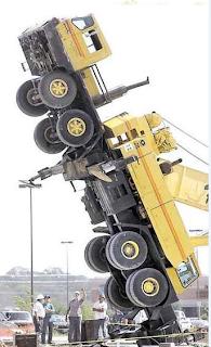 Najsmešnije slike: Uzdignuti Kamion