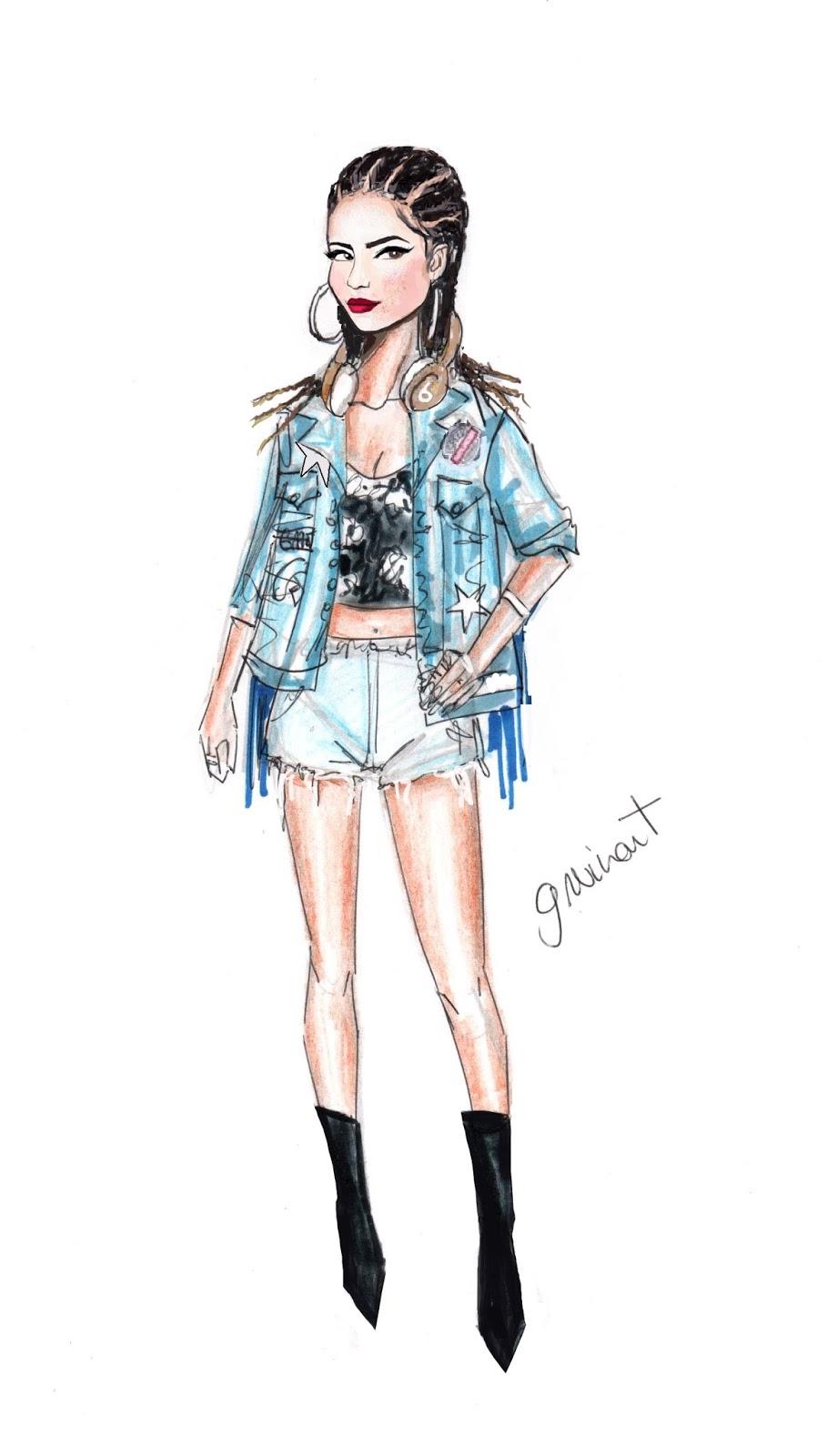 Hermosa Becky G Para Colorear Imagen - Ideas Para Colorear ...