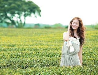 SNSD YoonA 윤아 Innisfree Wallpaper 3