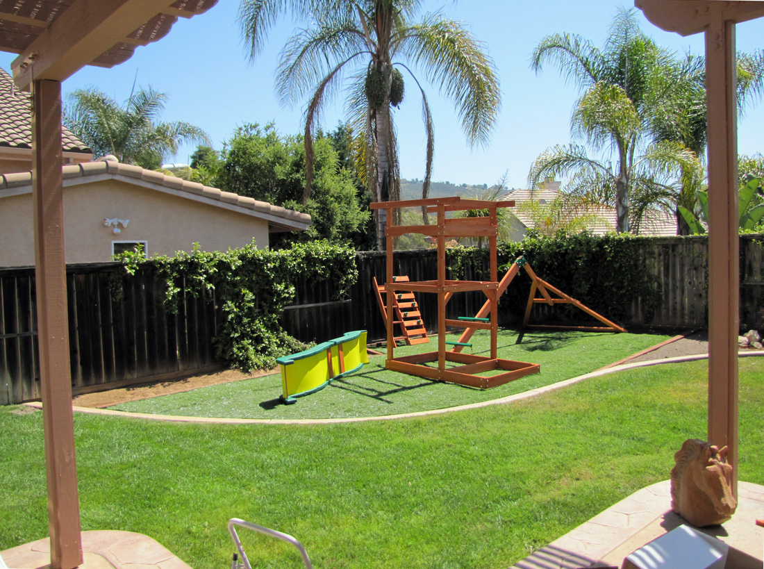 the bell curve of life the playset is installed