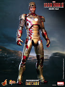 With the highly anticipated release of Iron Man 3 just around the corner, . (hot toys iron man mark xlii )