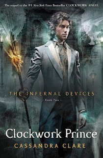CLOCKWORK PRINCE COVER is OUT! :)