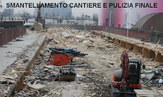 CANTIERE E PULIZIA FINALE