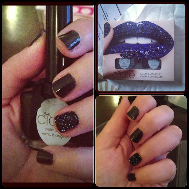 Black Pearl Caviar Nail Set by Ciaté