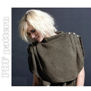 Knit a cabled shrug :: free knitting pattern :: cable knit