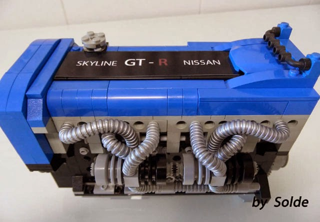 Nissan Skyline Gt R S In The Usa Blog Lego Rb26dett Engine