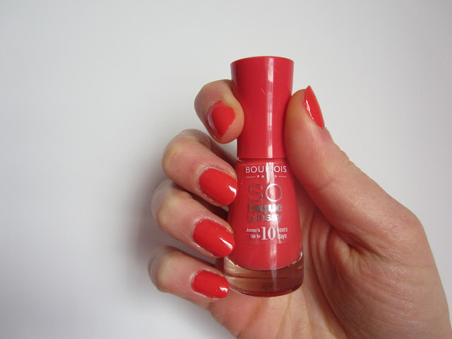 Vernis So Laque Ultra Shine (teinte 02 Prepp'hibiscus) BOURJOIS