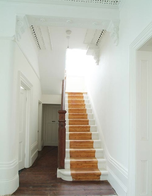 Dishfunctional designs intimate stairs painted - Ideas for painting stairs ...