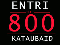 800 Entri Blog !