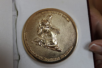 MEDALLA DE SAN ISIDORO DE SEVILLA 2012