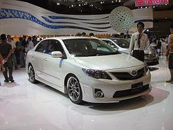Mobil Sedan Corolla Generasi Kesepuluh