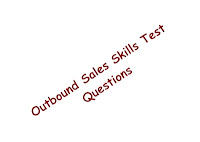 image of outbound sales skills test questions