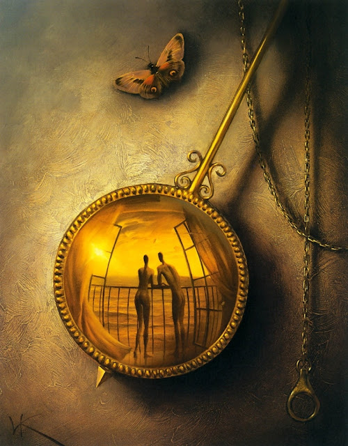 Stopped Moment by Vladimir Kush