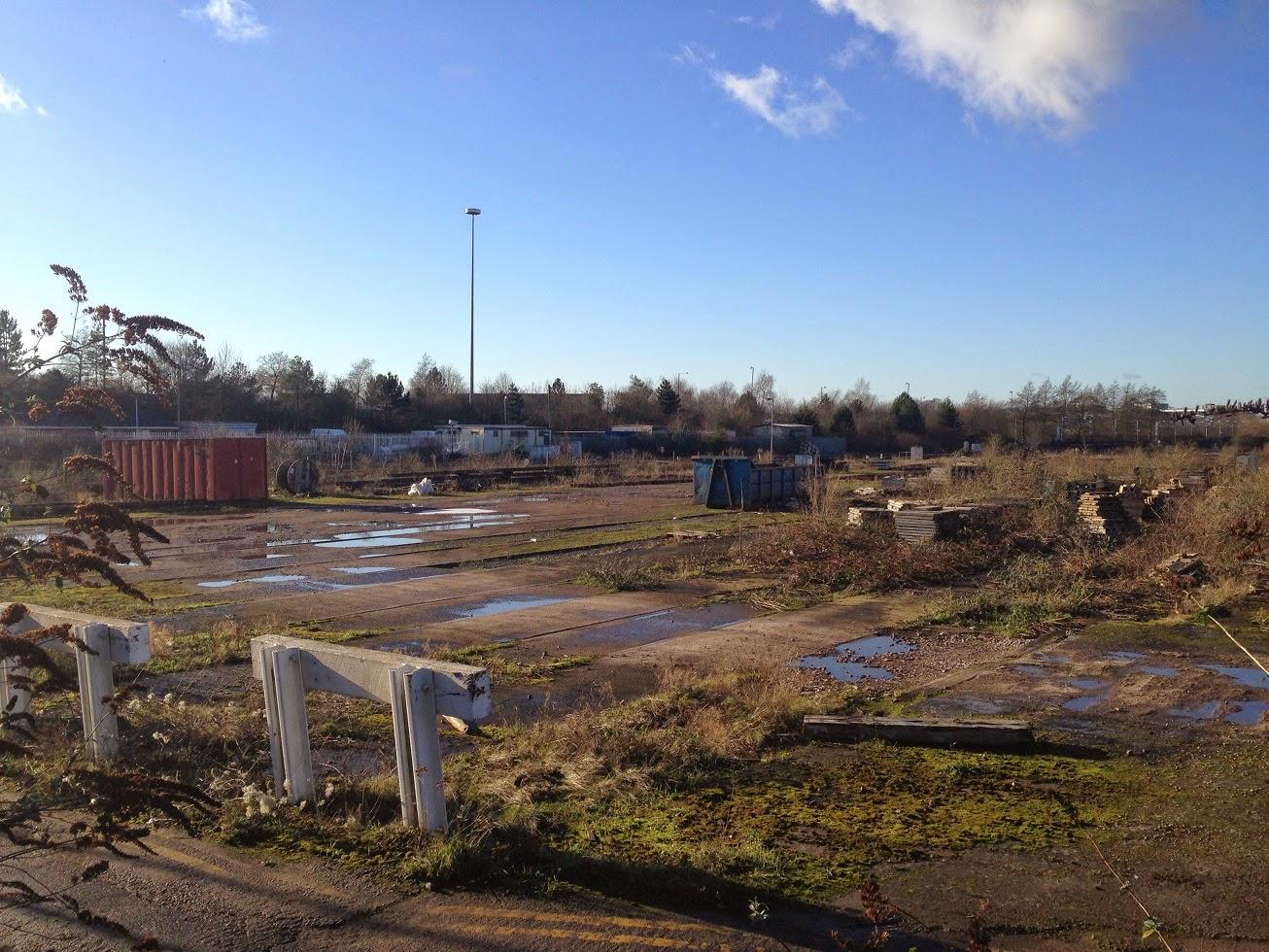 Former railway sidings, Gloucester