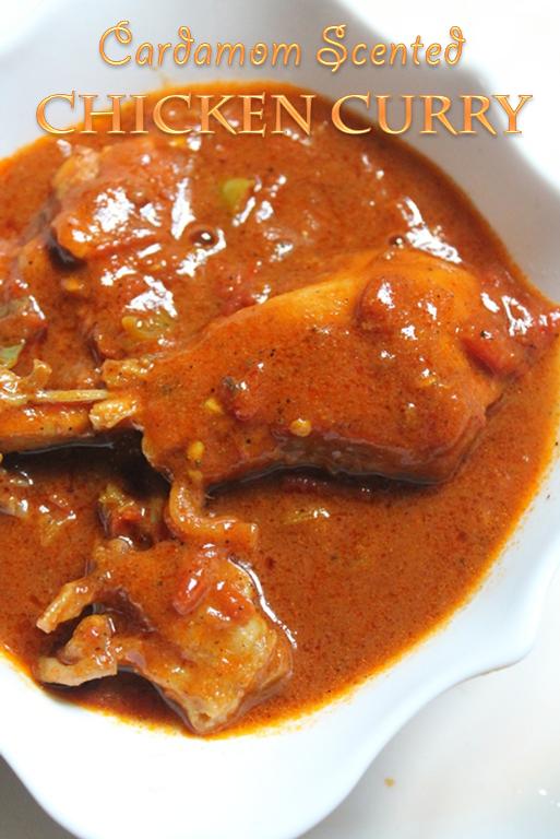 YUMMY TUMMYCardamom Scented Chicken Curry Recipe